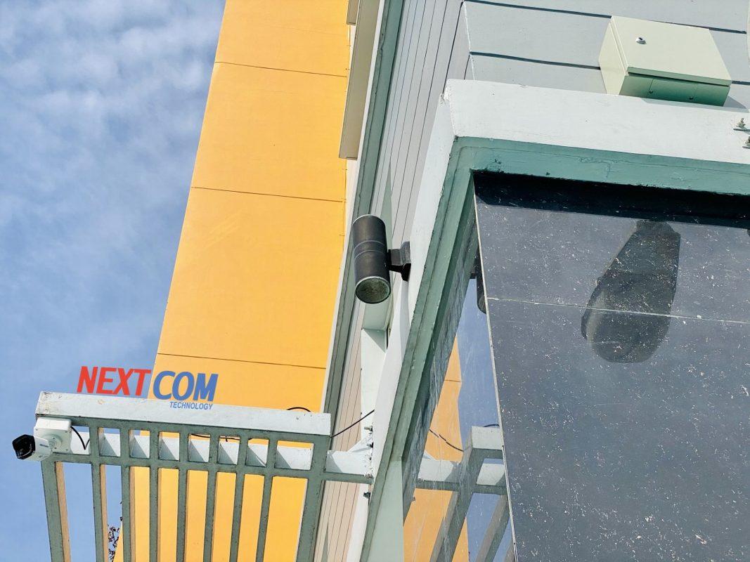 Lắp đặt camera giám sát tòa nhà